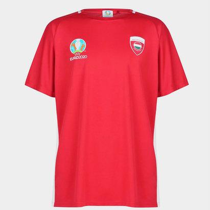 UEFA Euro 2020 Hungary T Shirt Mens