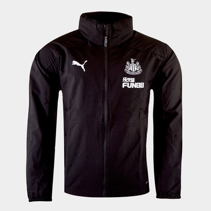 Puma Newcastle United 19/20 Players Football Rain Jacket