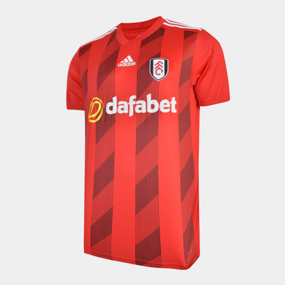 adidas Fulham FC 19/20 Away S/S Football Shirt
