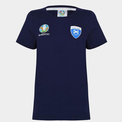 UEFA Euro 2020 Scotland T Shirt Ladies