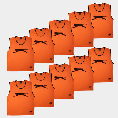 Slazenger Adult Training Bibs - Set of 10