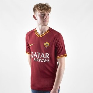 Nike AS Roma 19/20 Home Replica Football Shirt