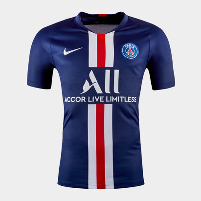 Nike Paris Saint-Germain 19/20 Kids Home S/S Replica Football Shirt