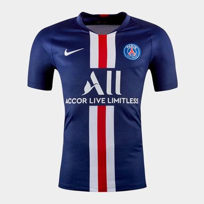 Nike Paris Saint-Germain 19/20 Kids Home S/S Replica Football Shirt
