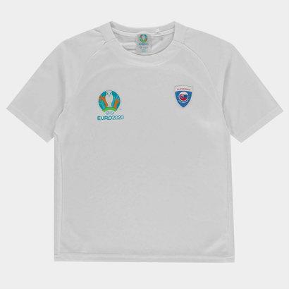 UEFA Euro 2020 Slovakia Polyester T Shirt