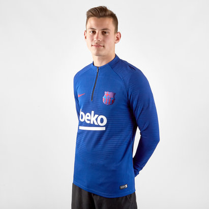 Nike FC Barcelona 19/20 Vapor Knit Strike Drill Football Top