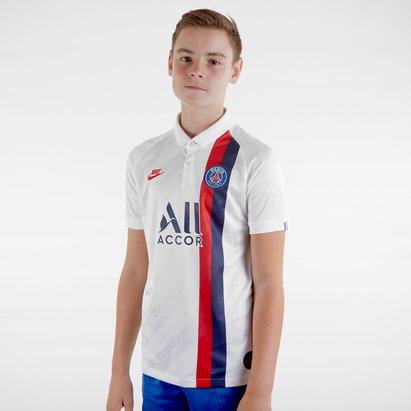 Nike Paris Saint-Germain 19/20 Kids 3rd S/S Replica Football Shirt