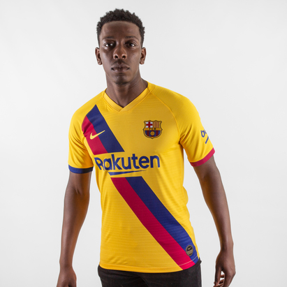 Nike FC Barcelona 19/20 Away S/S Vapor Match Football Shirt