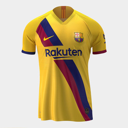 Nike FC Barcelona 19/20 Away S/S Replica Football Shirt