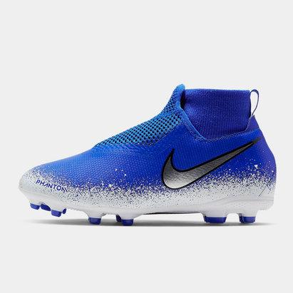 Nike Phantom Vision Academy Kids D-Fit MG/FG Football Boots