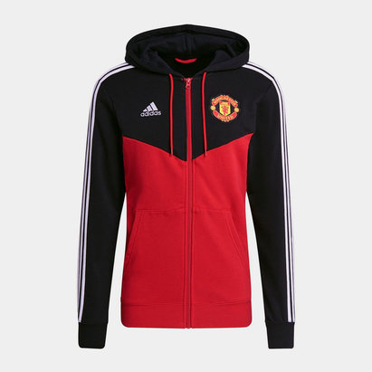 adidas Manchester United Hoodie 2021 2022 Mens