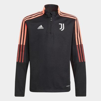 adidas Juventus Training Top 2021 2022 Junior