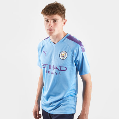 Puma Nike Manchester City 19/20 Home Players Authentic S/S Football Shirt