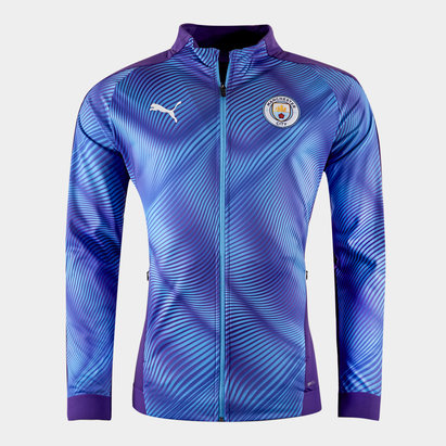 Puma Manchester City 19/20 Stadium League Football Jacket