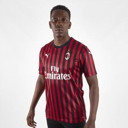 Puma AC Milan 19/20 Home Authentic S/S Football Shirt