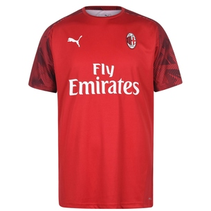 Puma AC Milan Short Sleeve T Shirt Mens