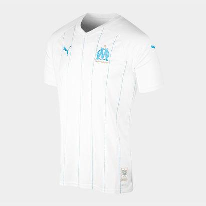 Puma Olympic Marseille 19/20 Home S/S Replica Football Shirt