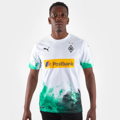 Puma Borussia Monchengladbach 19/20 Home S/S Replica Football Shirt