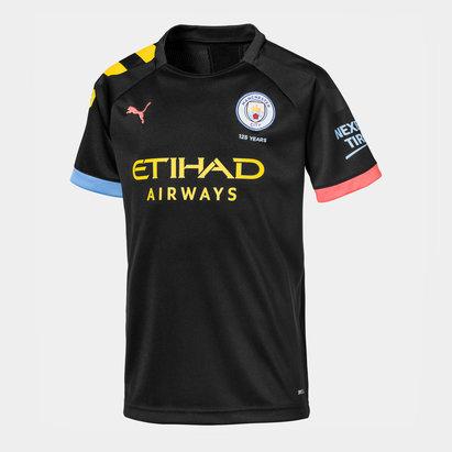 Puma Manchester City Away Shirt 2019 2020 Junior