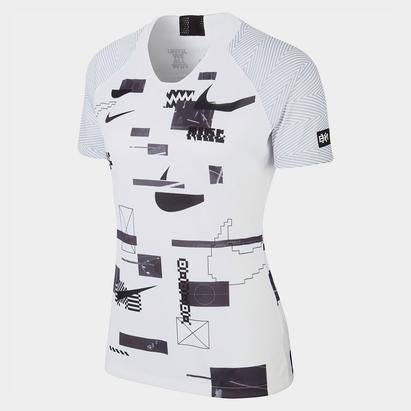 Nike Dry Black History Month Short Sleeve Shirt Womens