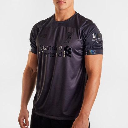 New Balance Liverpool FC Blackout S/S Football Shirt