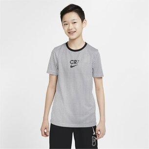 Nike CR7 Dry Short Sleeve Top Junior Boys