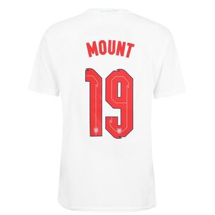 UEFA Euro 2020 England Polyester T-Shirt With Printed Name Mens