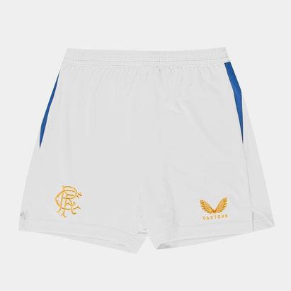 Castore Rangers Home Shorts 2021 2022 Juniors