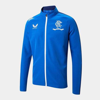 Castore Rangers Anthem Jacket 2021 2022 Mens