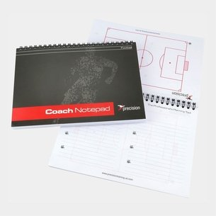 Precision Training A5 Football Pro-Coach Notepad