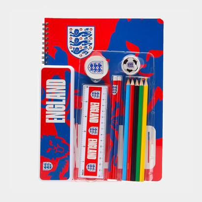 England A4 Stationary Set Junior Boys