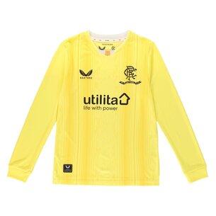 Castore Rangers Home Goalkeeper Shirt 2021 2022 Junior