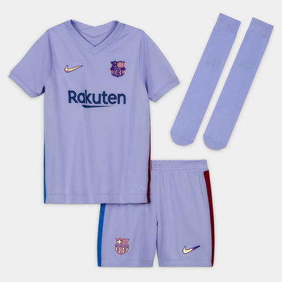 Nike Barcelona Away Mini Kit 2021 2022