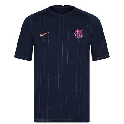 Nike Barcelona Away Pre Match Shirt 2021 2022 Mens