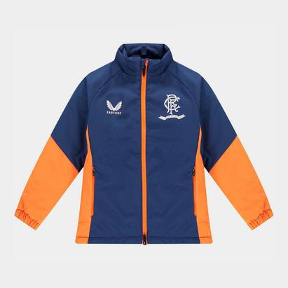 Castore Rangers Bench Jacket 2021 2022 Junior