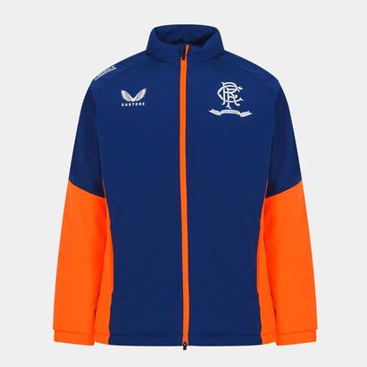 Castore Rangers Bench Jacket 2021 2022 Mens