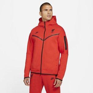 Nike Sportswear Liverpool Tech Fleece Hoodie 2021 2022 Mens