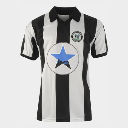 Score Draw Newcastle United Football Club 1982 Home Jersey Mens