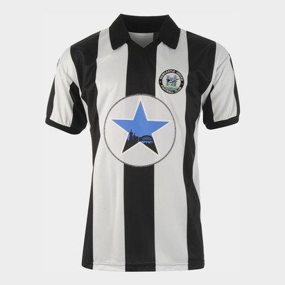 Score Draw Newcastle United Football Club 1982 Home Jersey Mens