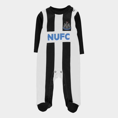 Newcastle United Sleepsuit Baby Boys