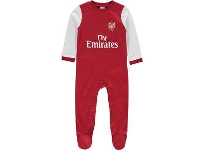 Arsenal Football Sleepsuit Baby Boys