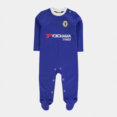 Chelsea Football Sleepsuit Baby Boys