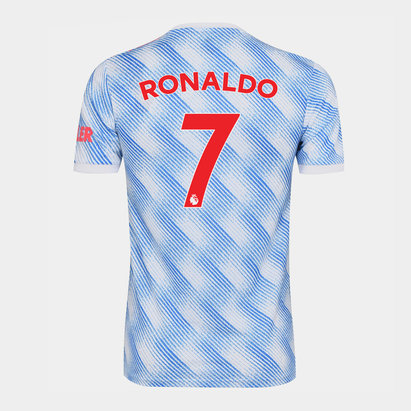 adidas Manchester United Away Ronaldo Shirt