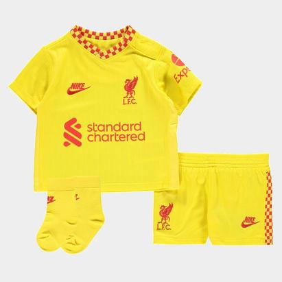 Nike Liverpool Third Baby Kit 2021 2022