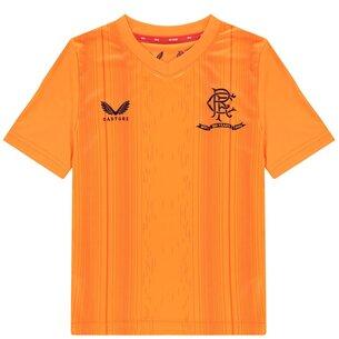 Castore Rangers Pre Match Shirt 2021 2022 Junior