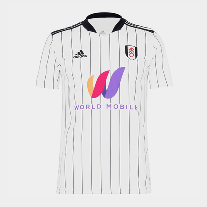 adidas Fulham Home Jersey Mens