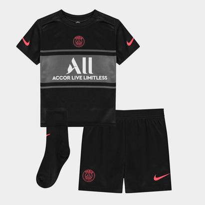 Nike Paris Saint Germain Third Baby Kit 2021 2022