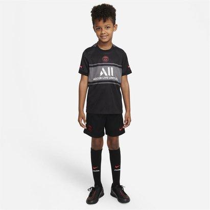 Nike Paris Saint Germain Third Mini Kit 2021 2022