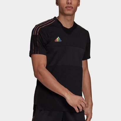 adidas Tiro Pride T Shirt Mens