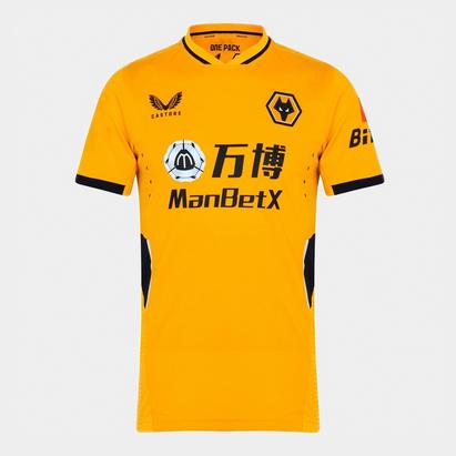Castore Wolves Home Authentic Shirt 2021 2022